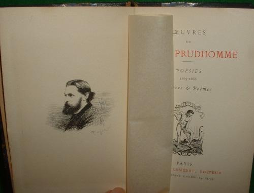 Oeuvres De Sully Pruhomme Poesies 1865 66
