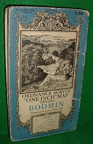Ordnance Survey one-inch map, fifth edition, sheet 136, Bodmin.