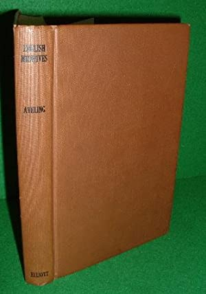 ENGLISH MIDWIVES Their History & Prospects FACSIMILIE of 1872 edition