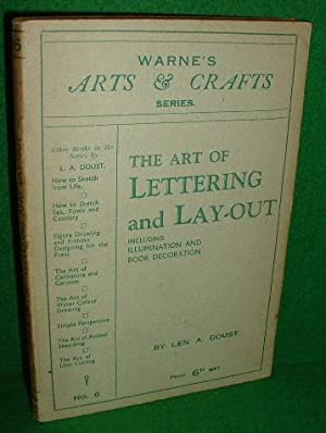 THE ART OF LETTERING and LAY-OUT Including ILLUMINATING and Book Decoration , no 6