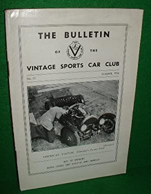 THE BULLETIN OF THE VINTAGE SPORTS CAR CLUB No 51 Summer 1956