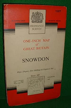 ORDNANCE SURVEY ONE-INCH MAP OF GREAT BRITAIN SNOWDON SEVENTH SERIES
