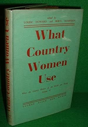 WHAT COUNTRY WOMEN USE