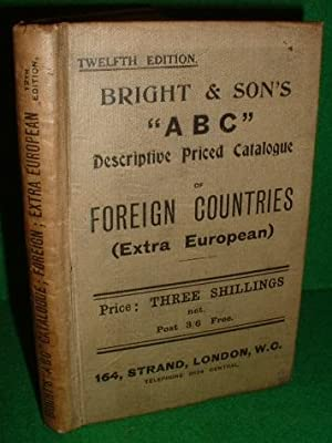 "BRIGHT & SON'S ""ABC"" Descriptive Priced Catalogue"