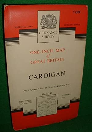 ORDNANCE SURVEY ONE-INCH MAP OF GREAT BRITAIN CARDIGAN
