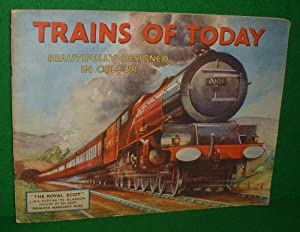 TRAINS OF TODAY Beautifully Designed in Colour