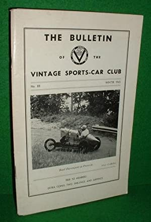 THE BULLETIN of the VINTAGE SPORTS CAR CLUB No 88 Winter1965
