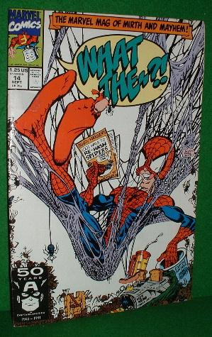 WHAT THE #? ! Vol 1, No 14, September 1991 The Marvel Mag of Mirth & Mayhem