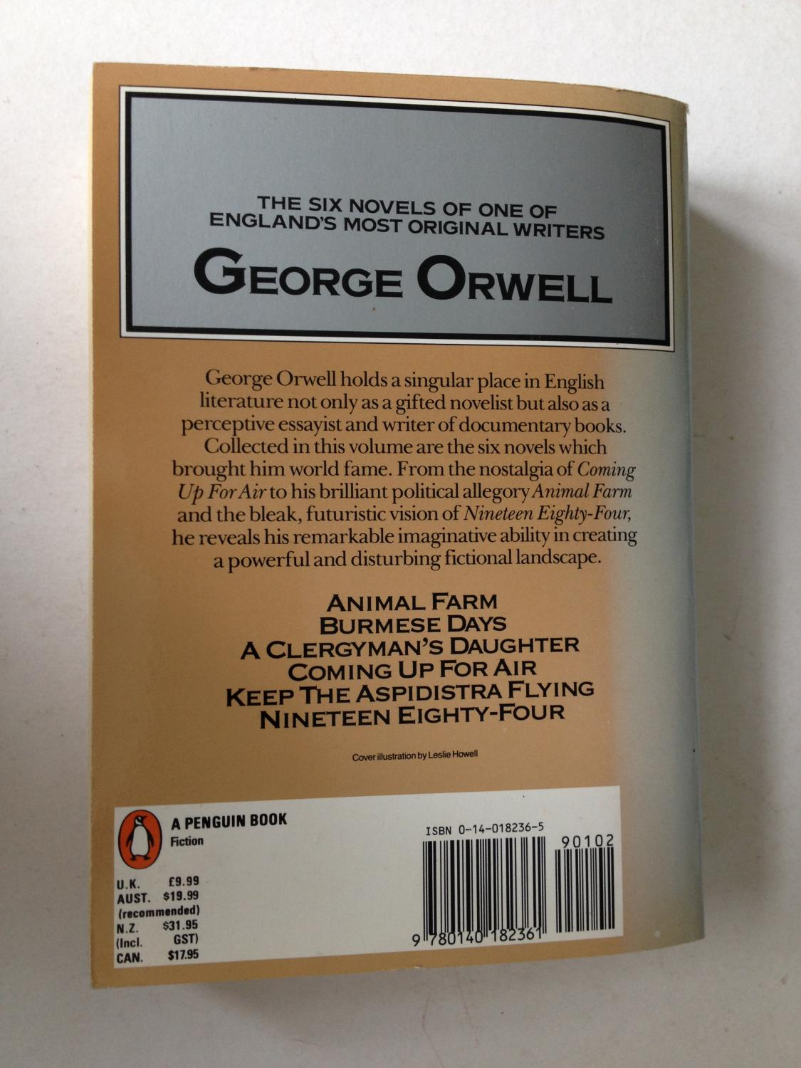 a literary analysis of the novel keep the aspidistra flying by george orwell