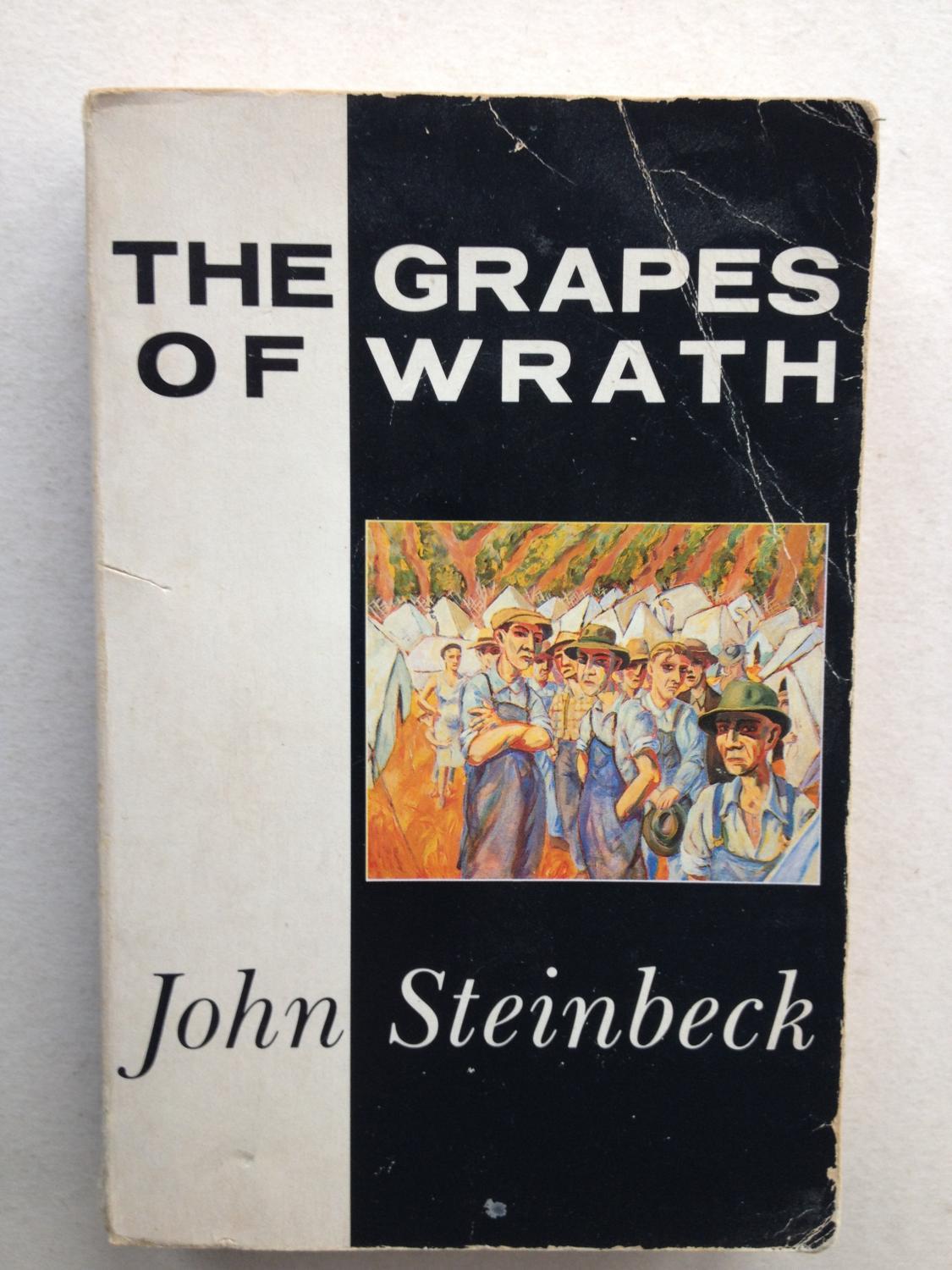 sacrifice and determination in the grapes of wrath by john steinbeck John steinbeck also wrote grapes of wrath and of mice and the grapes of wrath- john steinbeck posts about quotes written by wide humor helps the determination.