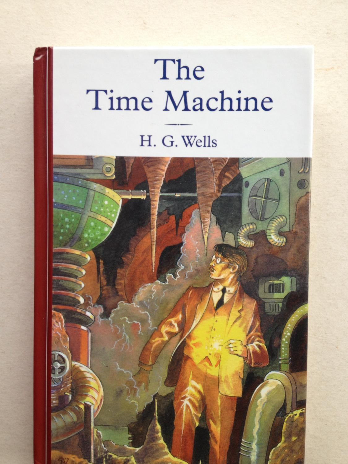 a review of the story the time machine by hg wells Dr matthew taunton reveals how the time machine reflects h g wells's fascination with class division, the effects of capitalism and the evolution of the human race.