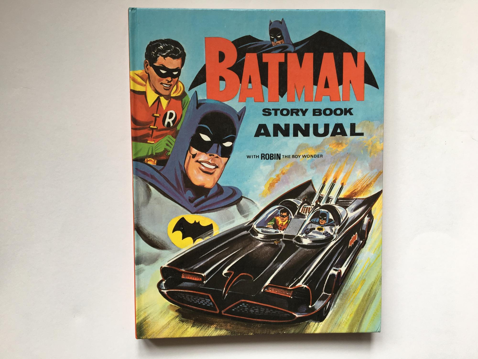Batman story book