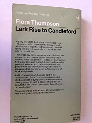 lark rise to candleford the book