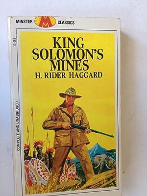 King Solomon's Mines: H Rider Haggard