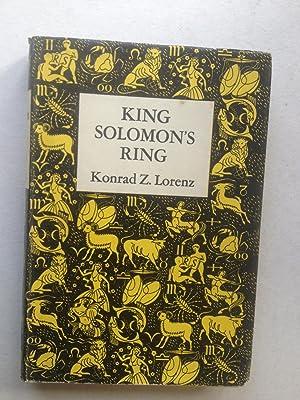 King Solomon's Ring: Konrad Z Lorenz