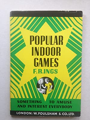 Popular Indoor Games Something to Amuse and: F R Ings