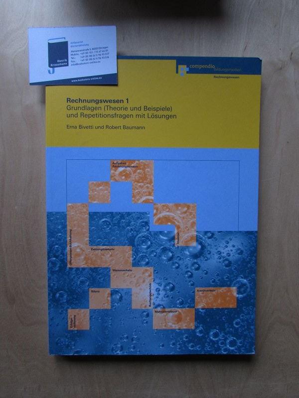 Rechnungswesen 1 Grundlagen Theorie Und Beispiele Und