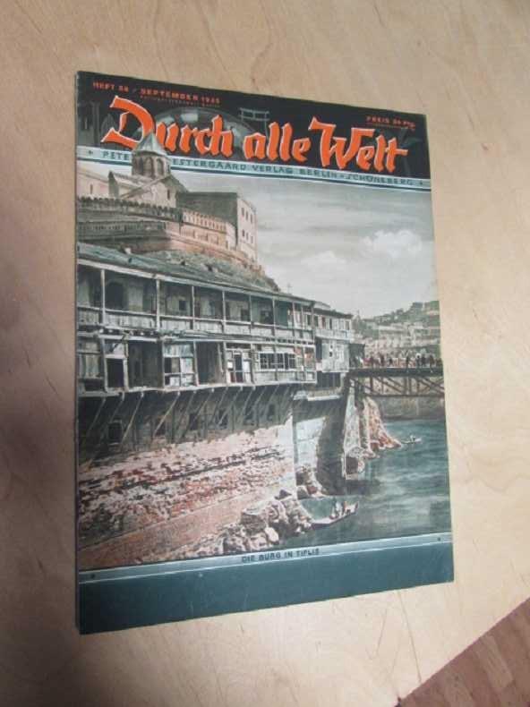 Durch alle Welt - Die Burg in: Petermann, Wilhelm: