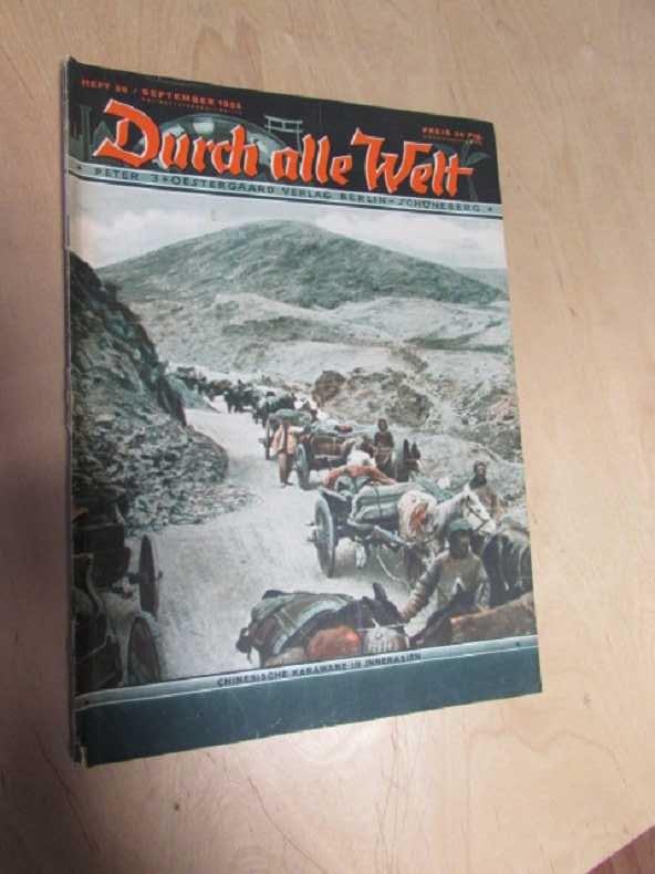 Durch alle Welt - Chinesische Karawane in: Petermann, Wilhelm:
