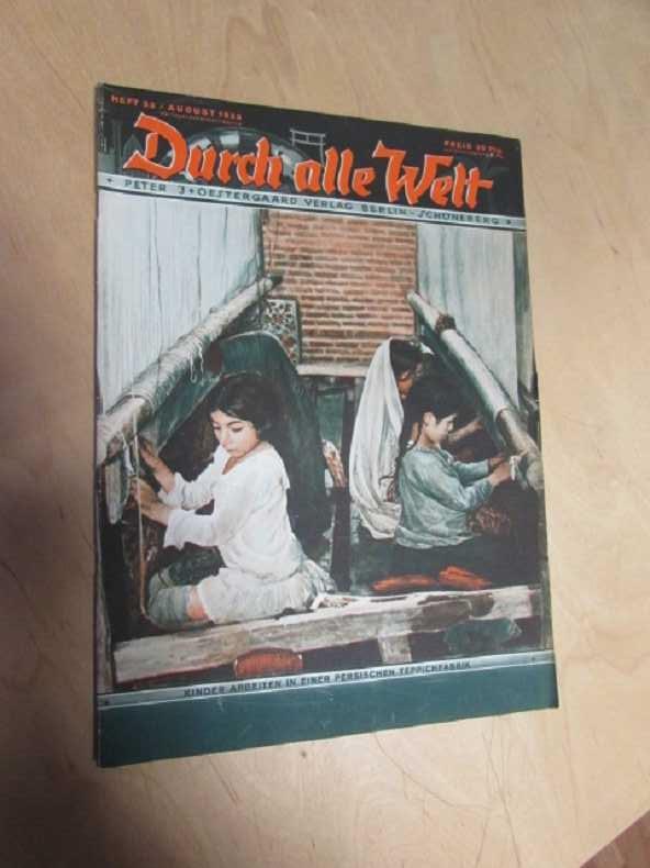 Durch alle Welt - Kinder arbeiten in: Petermann, Wilhelm:
