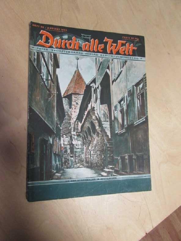 Durch alle Welt - An der Stadtmauer: Petermann, Wilhelm: