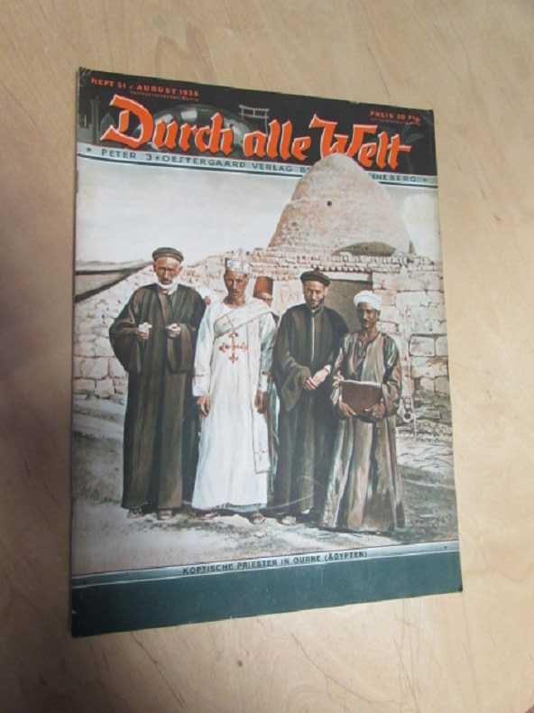 Durch alle Welt - Koptische Priester in: Petermann, Wilhelm: