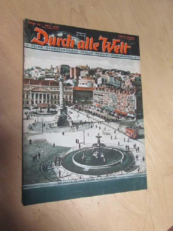 Durch alle Welt - Die Praca de: Petermann, Wilhelm: