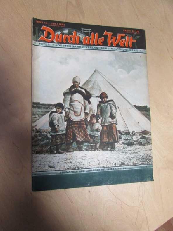 Durch alle Welt - Eskimofrau aus Labrador: Petermann, Wilhelm:
