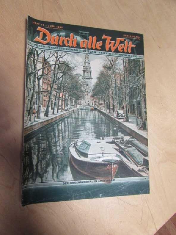 Durch alle Welt - Der Groenburgval in: Petermann, Wilhelm: