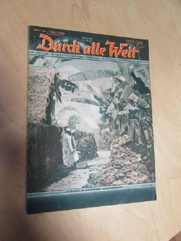 Durch alle Welt - Strasse in Antsirabe,: Petermann, Wilhelm: