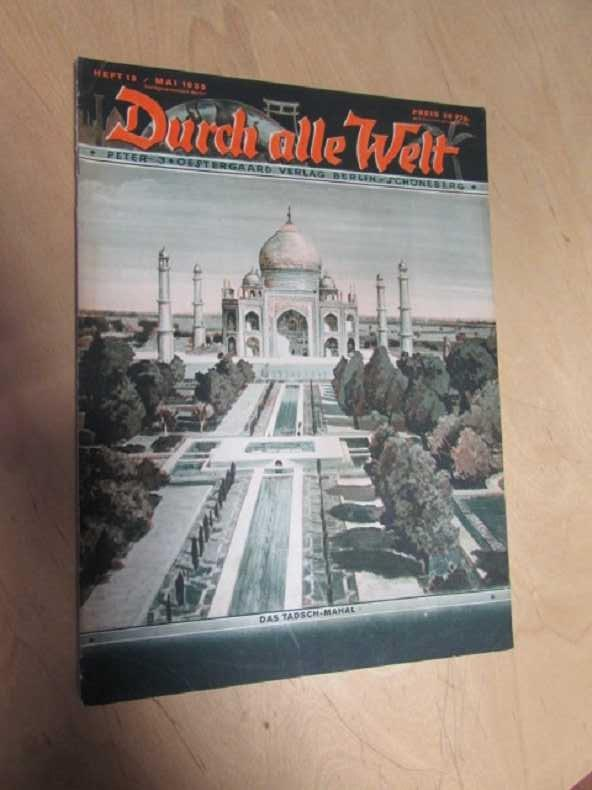 Durch alle Welt - Das Tadsch-Mahal (Heft: Petermann, Wilhelm: