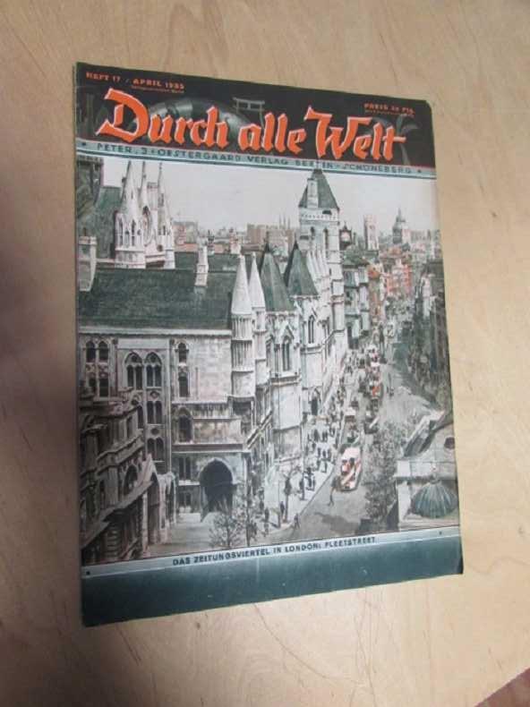 Durch alle Welt - Das Zeitungsviertel in: Petermann, Wilhelm: