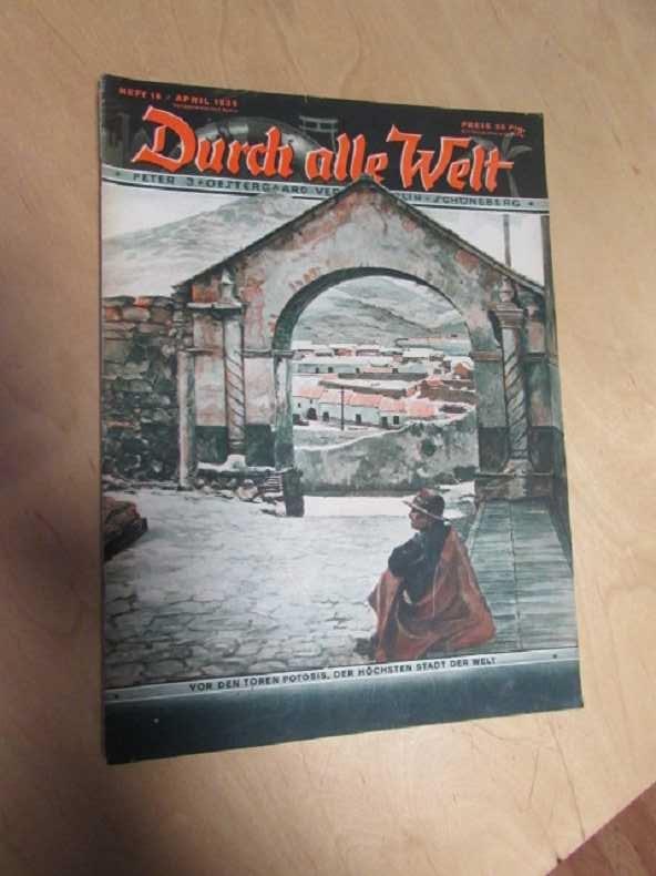 Durch alle Welt - Vor den Toren: Petermann, Wilhelm: