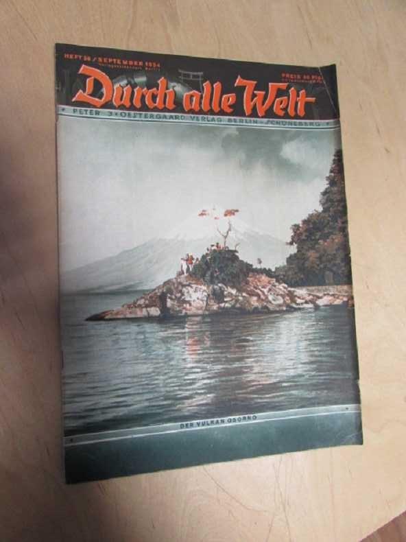 Durch alle Welt - Der Vulkan Osorno: Petermann, Wilhelm: