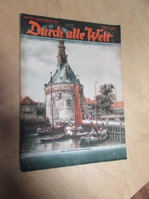Durch alle Welt - Das Hoofdtor in: Petermann, Wilhelm:
