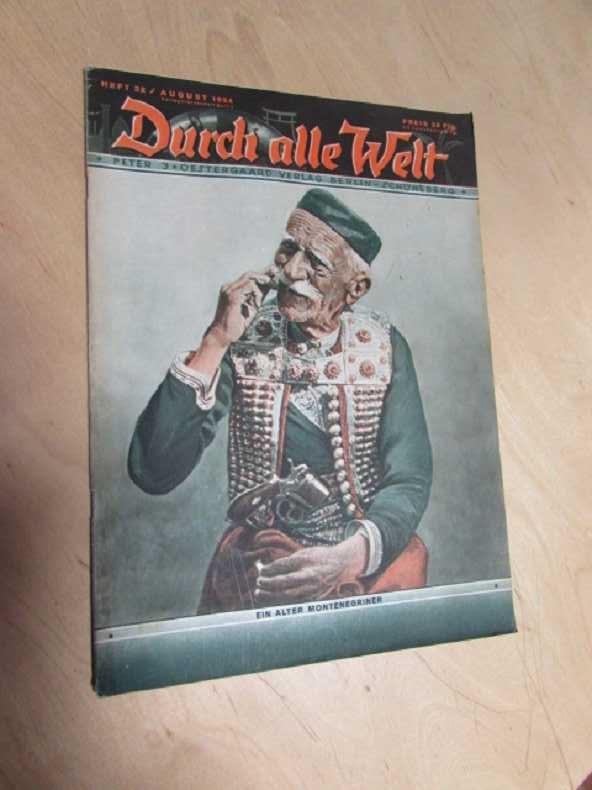 Durch alle Welt - Ein alter Montenegriner: Petermann, Wilhelm: