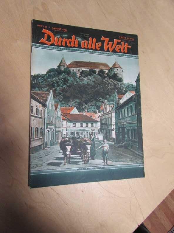 Durch alle Welt - Wörth an der: Petermann, Wilhelm:
