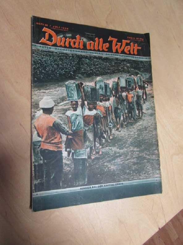 Durch alle Welt - Kinder bei der: Petermann, Wilhelm: