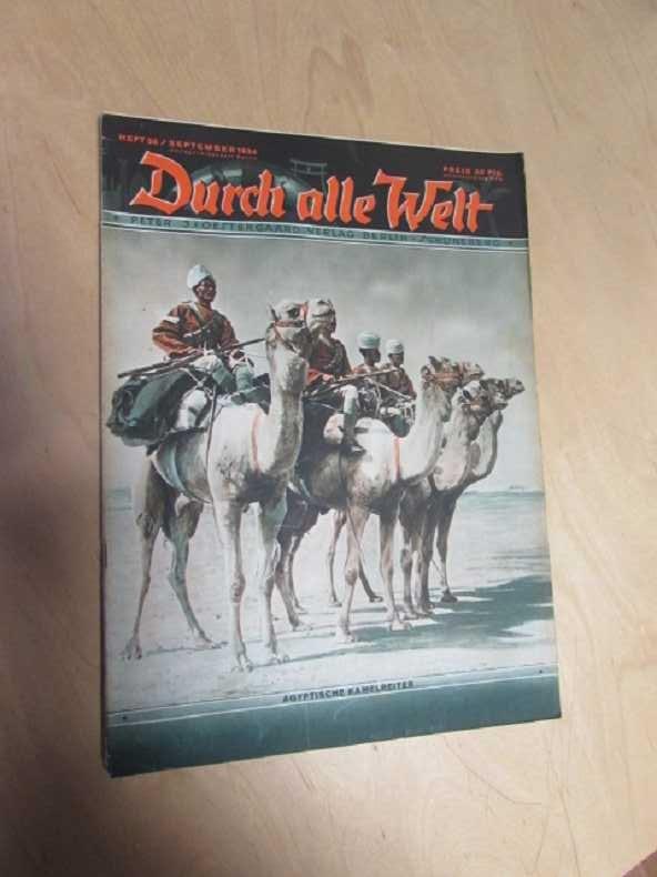 Durch alle Welt - Agyptische Kamelreiter (Heft: Petermann, Wilhelm:
