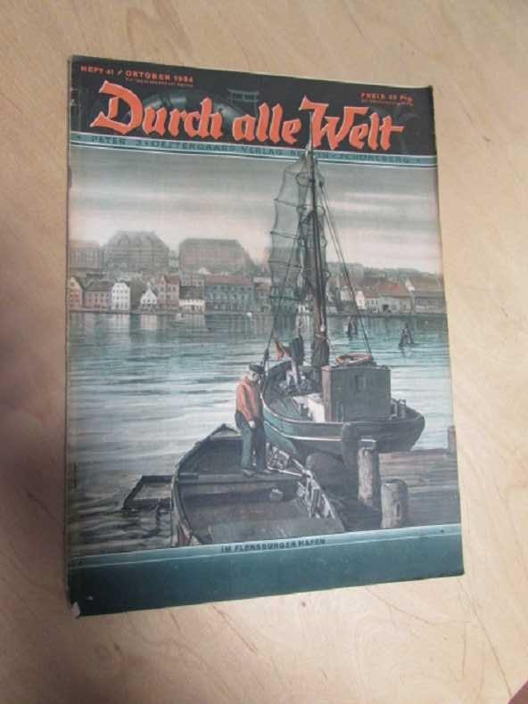 Durch alle Welt - Im Flensburger Hafen: Petermann, Wilhelm: