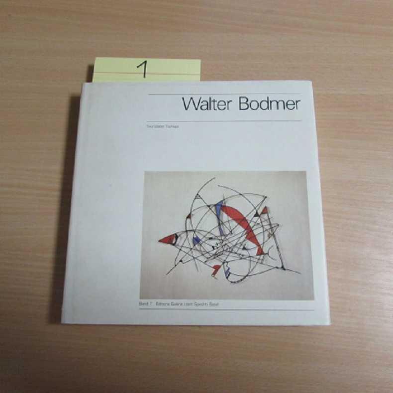 """Edition Galerie """"zem Specht"""" Basel - Band: Bodmer, Walter und"""