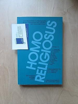 HOMO RELIGIOSUS (Ethnologische Schriften Zürich): Braun, Hans-Jürg und