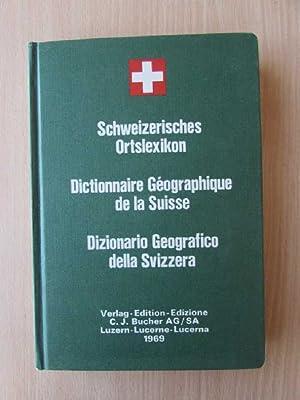 Schweizerisches Ortslexikon mit Angabe der Postleitzahlen und: Jacot, Arthur: