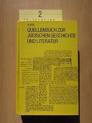 Quellenbuch zur jüdischen Geschichte und Literatur Band: Dr. Höxter, Julius:
