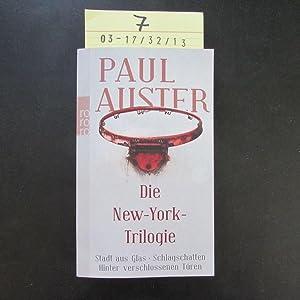 Die New-York-Trilogie.: Auster, Paul und