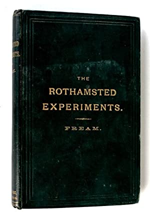 The Rothamsted Experiments on the growth of wheat, barley and the mixed herbage of grass land: ...