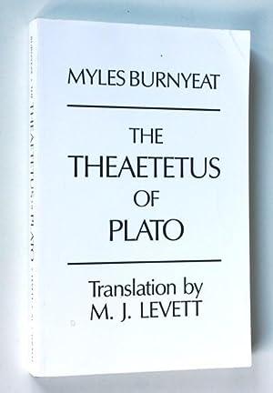 The Theaetetus of Plato: Myles Burnyeat