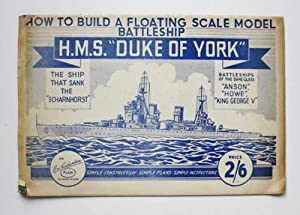 How to Build a Floating Scale Model Battleship H.M.S.