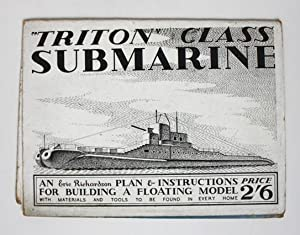 Triton Class Submarine. Plan and Instructions for Building a Floating Model