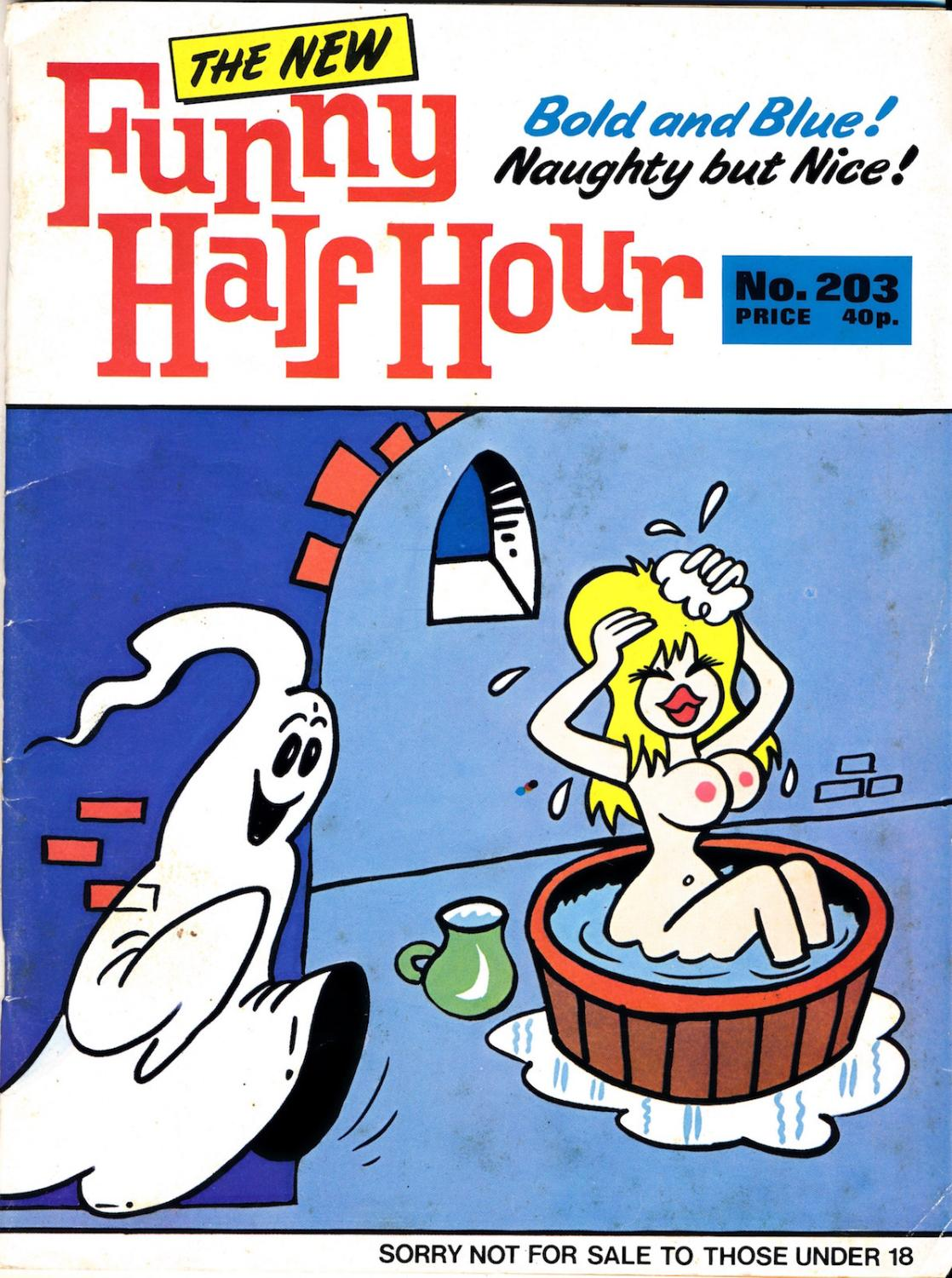 Adult Cartoon Comics funny half hour [the new] (vintage adult